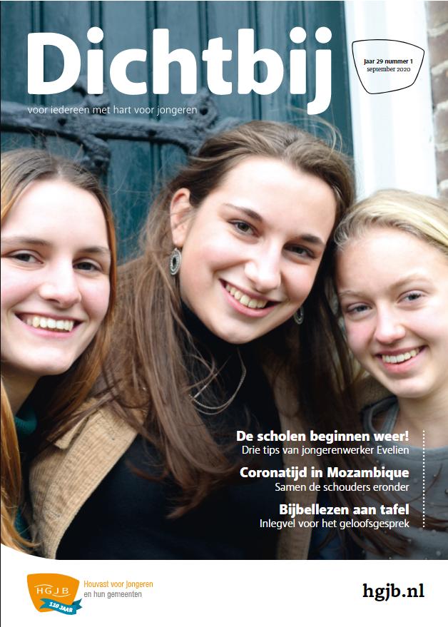 Voorkant ledenmagazine Dichtbij